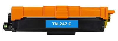 Toner TN-247C kompatibilní s Brother TN-247C, azurový, 2.300 str. !!
