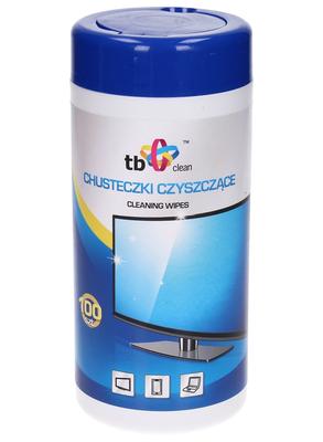 TB Clean Vlhčené čisticí ubrousky v tubě (100 ks)
