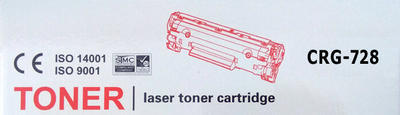 Toner Canon CRG-728 / Canon MF4410, MF4430, kompat. černý, 2.100 str. - 2