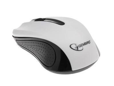 Gembird optická myš 1200 DPI, USB, bílo-černá, 3 tlačítka - 2