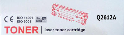 Toner Q2612A kompatibilní s Canon LBP2900, LBP3000, černý, 2.000 str. - 2