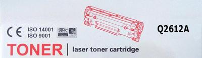 Toner HP Q2612A / HP 12A kompatibilní, černý, 2.000 str. - 2