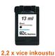 Inkoust HP 652XL / F6V25AE kompatibilní, černý, 13 ml !! -- -- 2,2 x více inkoustu