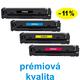 ** Sada 4 tonerů CMYK kompatibilní s HP CF530,1,2,3A se slevou 11 % !! - PRÉMIUM