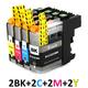 ** Sada 8 inkoustů LC-223 CMYK kompatibilní s Brother se slevou 20 % !!