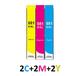 ** Sada 6 inkoustů CLI-581C, M,Y XXL se slevou 10 % !!