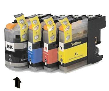 Inkoust LC-123BK kompatibilní s Brother LC-123BK, černý, 20 ml !!