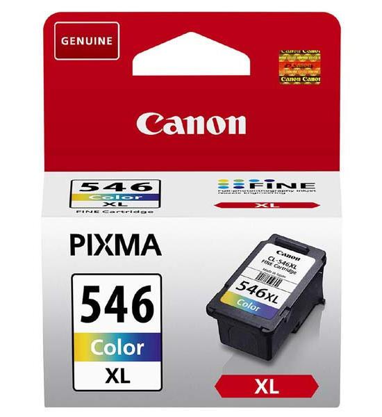 Inkoust Canon CL-546XL originální, barevný, 13 ml, 300 str.