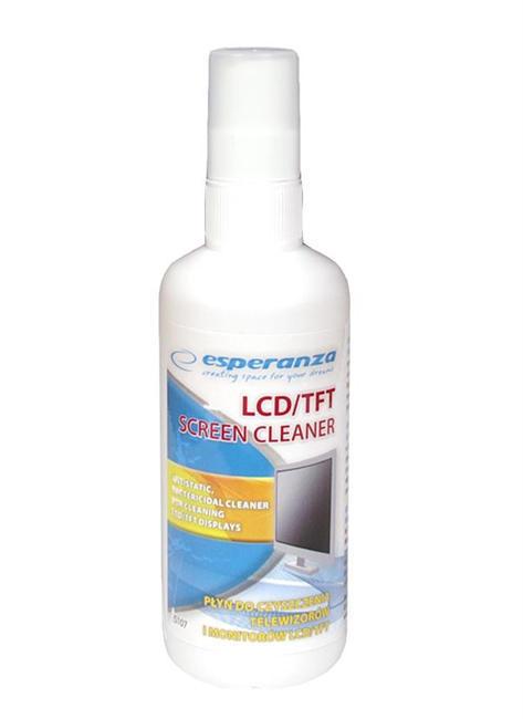 Čisticí roztok na LCD monitory a TFT displeje - 100 ml - zn. Esperanza