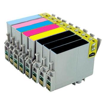 ** Sada 8 inkoustů T0801,2,3,4,5,6 do tiskáren Epson se slevou 15 % !!