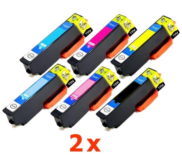 ** Sada 12 inkoustů T2431,2,3,4,5,6 / 24XL do Epson se slevou 20 % !!