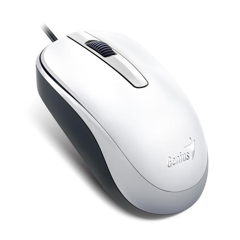 Genius optická myš DX-120, 1200 DPI, USB, bílá, 3 tlačítka
