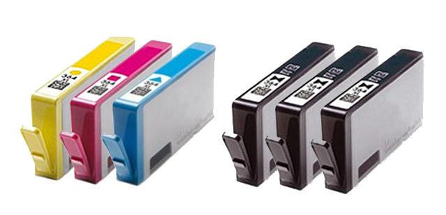 ** Sada 6 inkoustů 364XL CMYK do tiskáren HP se slevou 15 % !!