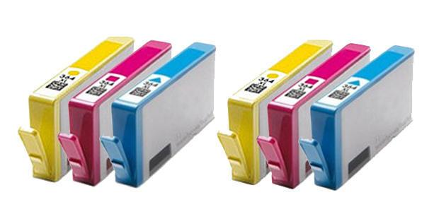 ** Sada 6 inkoustů 364XL CMY do tiskáren HP se slevou 15 % !!
