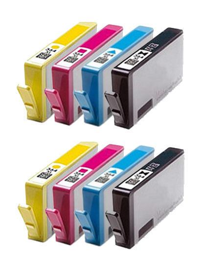 ** Sada 8 inkoustů 364XL CMYK do tiskáren HP se slevou 20 % !!