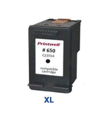 Inkoust HP 650 XL / CZ101AE kompatibilní, černý, 13 ml !! --- --- 2 x více inkoustu