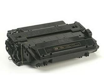 Toner HP CE255A / HP 55A kompatibilní, černý, 6.000 str.