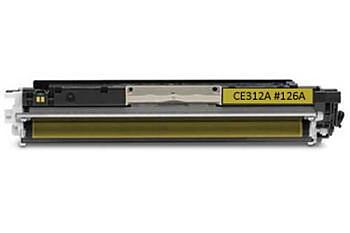 Toner CE312A / HP CLJ Pro CP1025 kompatibilní, žlutý, 1.000 str.