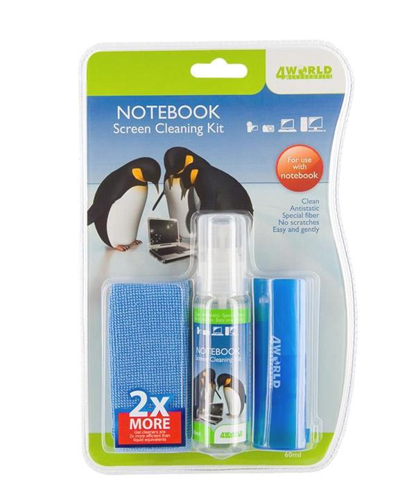 Čisticí gel - sada na čištění LCD displejů / Notebook Screen Cleaning Kit