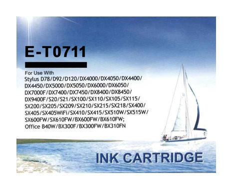 Inkoust CM0711 kompatibilní s Epson T0711, černý, 17 ml !!